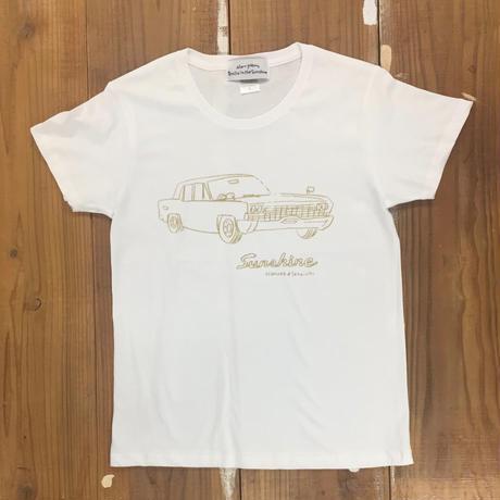 Sunshine S/S T shirts Lady's  WHT ( イラスト 朝倉世界一)