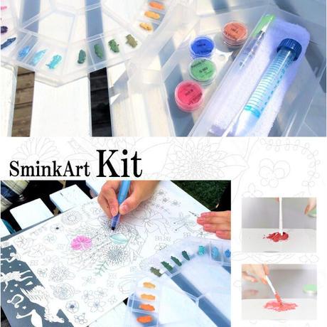 SminkArt キット(コスメ絵具化キット)
