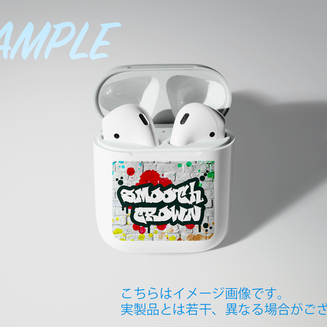 Smooth Crown POPロゴ AirPodsケース