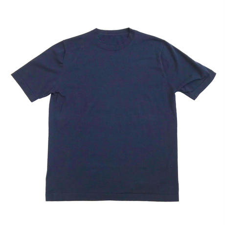 Men's ALBINI  <GIZA87> 120/2 ・2本取り ニットTシャツ (SJ-K050-007)