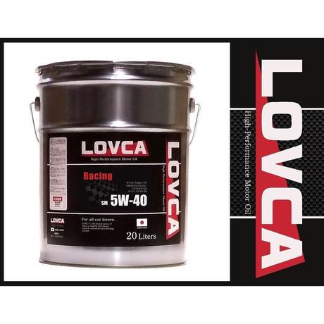 ラブカオイル LOVCA RACING 5W-50 20L
