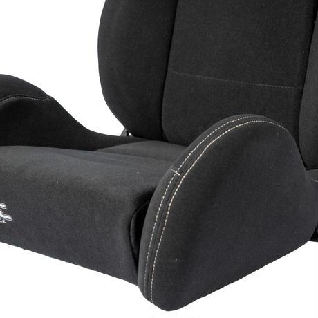GoodGunオリジナル 標準生地 セミバケットシート カラー:ブラック