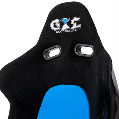 GoodGunオリジナル 標準生地 セミバケットシート カラー:ブラック/ブルー