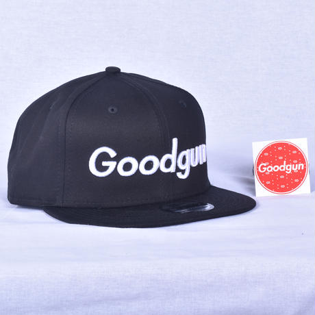 Good Gun  オリジナルキャップ 文字タイプ黒ツバ