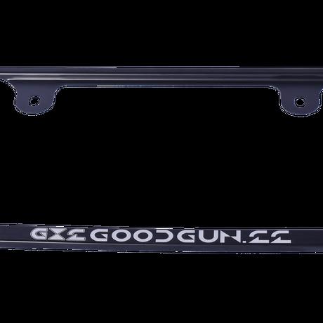GoodGun アルミナンバーフレーム カラー:ブラック