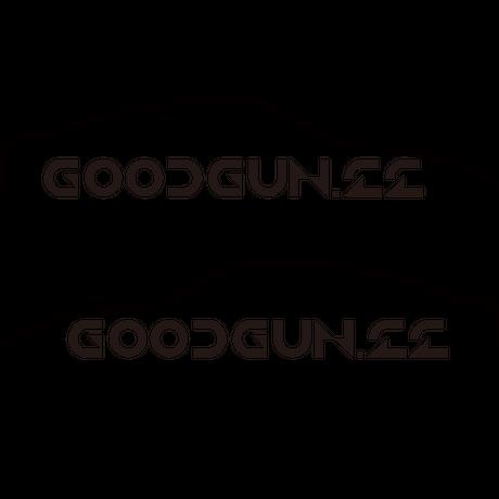 GoodGun クーペシルエットステッカー左右セット