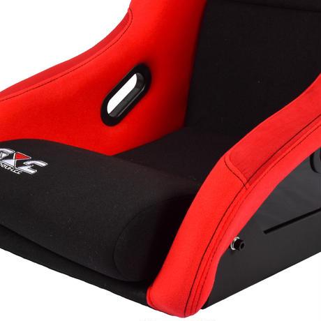 決算前セール GoodGunオリジナル 標準生地 フルバケットシート カラー:レッド/ブラック