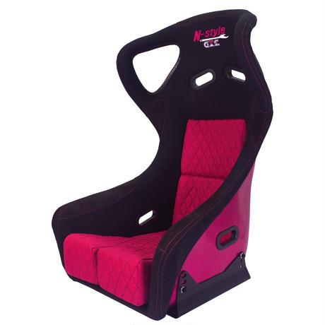 GoodGun×N-styleコラボ 標準生地 レーシングバケットシート カラー:ブラック/ピンク