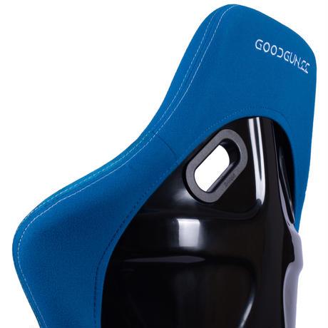 GoodGunオリジナル 標準生地 フルバケットシート カラー:ブルー オンライン限定モデル