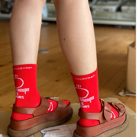 SNOOUPソックス(RED)