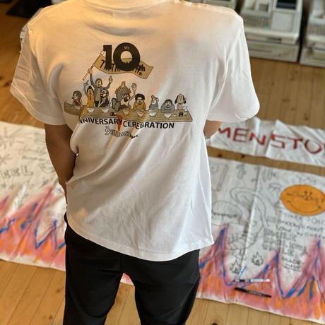 10th ANNIVERSARY Tshirts T02