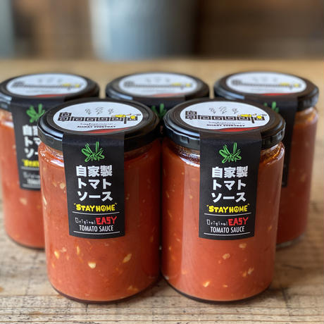 トマトパスタのようなラーメン専門店のEASY SAUCE!!(1本)