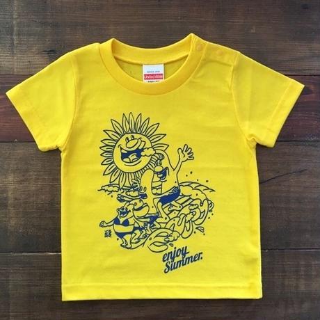 サーフィンおじさんの「enjoy」Tシャツ
