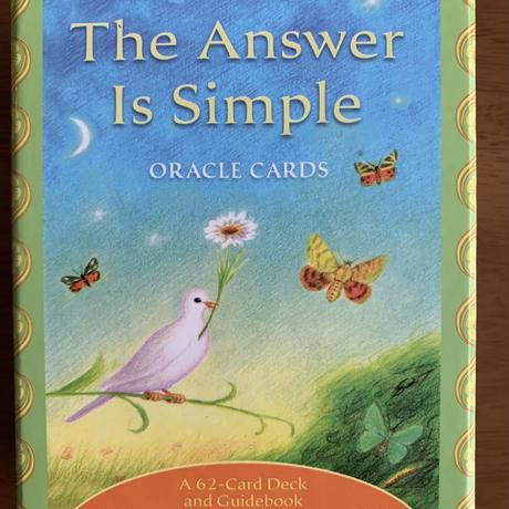 【カード現品と解説の販売】The Answer Is Simple