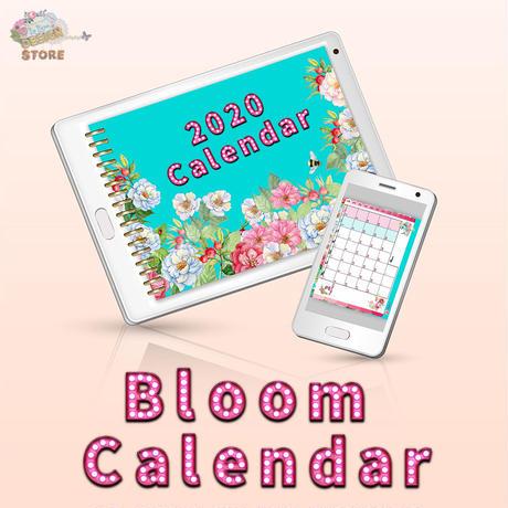 【Bloom Calendar2020】デジタルカレンダー