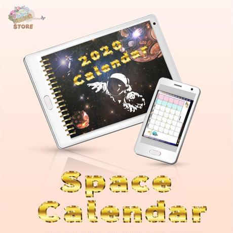 【Space Calendar 2020】デジタルカレンダー