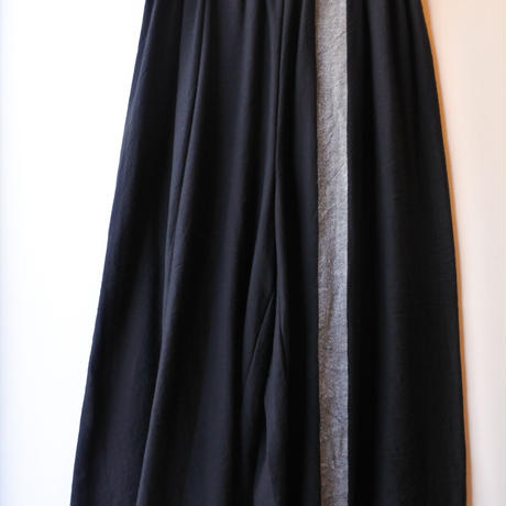 [tamaki niime WP-L-003]  wide pants long cotton