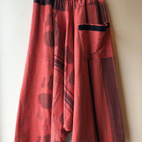 [tamaki niime] tarun pants-long TP-L-030