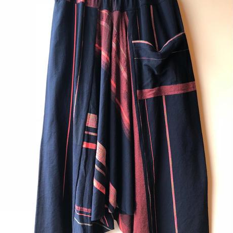 [tamaki niime] tarun pants-long TP-L-031