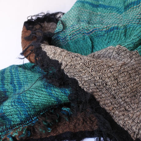 [tamaki niime RS-M-w020] roots shawl middle wool