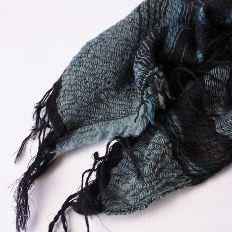 [tamaki niime RS-M-w015] roots shawl middle wool