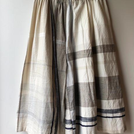 [tamaki niime] wide pants-short  WP-S-008