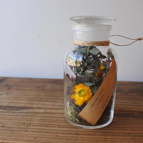 Botanical  glass cylinder arrange 001