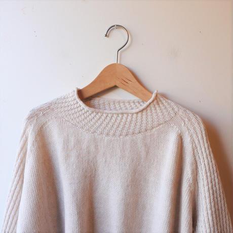 [tamaki niime PO-W010] PO knit ミィラァクル wool