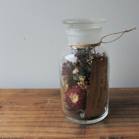 Botanical  glass cylinder arrange  003