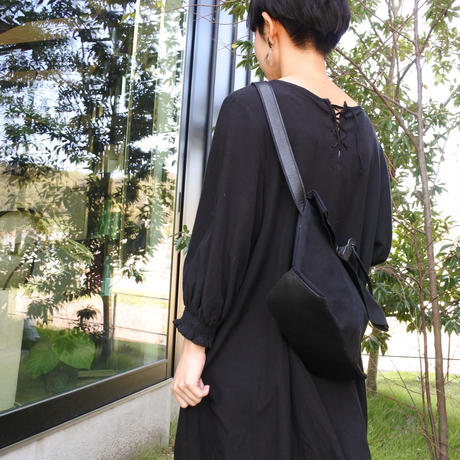 JINMON CLIP SHOULDER BAG(black)