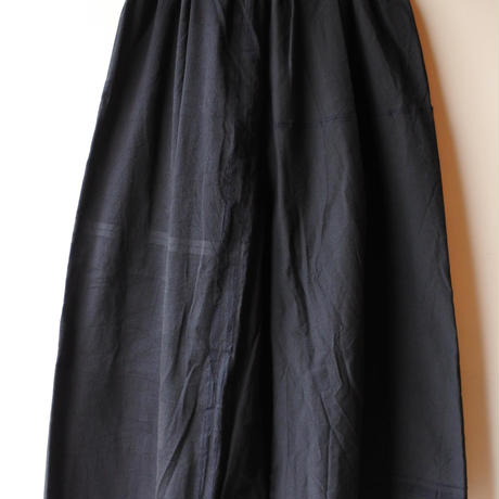 [tamaki niime] きぶんシリーズ wide pants-long(black)KI9-WPL