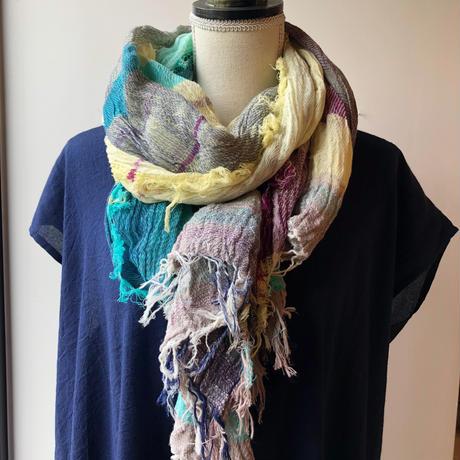 [tamaki niime] roots shawl-big  Basic-20