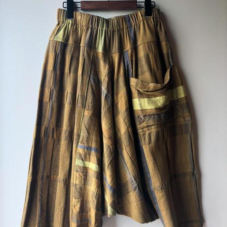 [tamaki niime] tarun pants-short TP-S-007