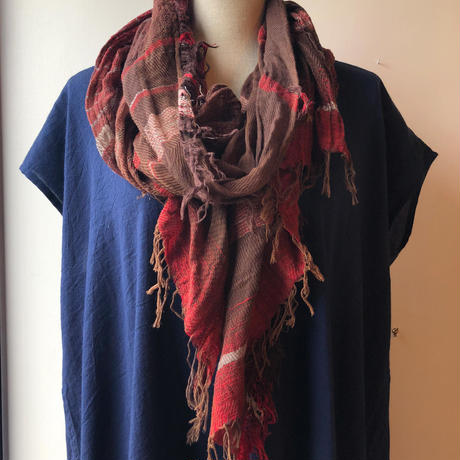 [tamaki niime] roots shawl-middle  RS-M-064