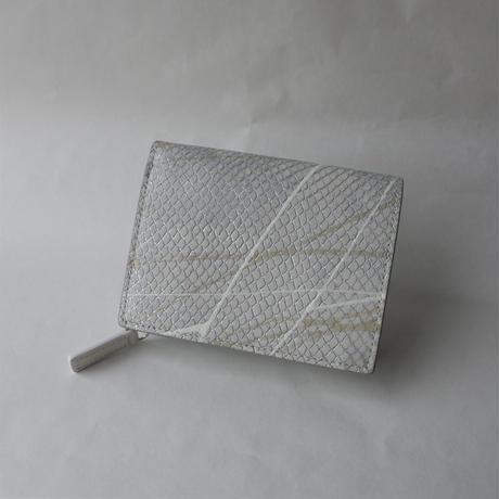 am [ sol創 ] 二つ折り財布(white)