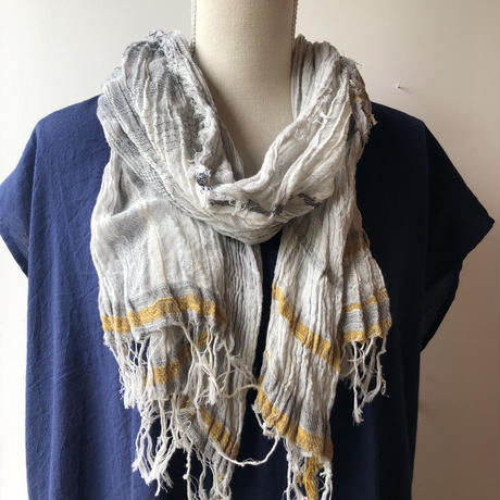 [tamaki niime] roots shawl-middle  RS-M-096