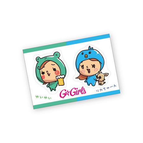 OFFICIAL STICKER MINI (SET)