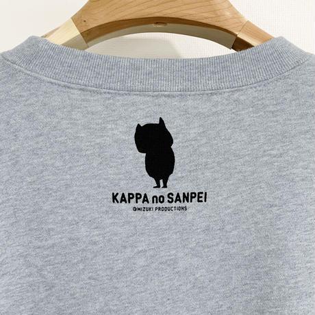 〔予約販売2021年10月下旬〜11月上旬発送予定〕河童の三平  いつかえる スウェットシャツ Color グレー