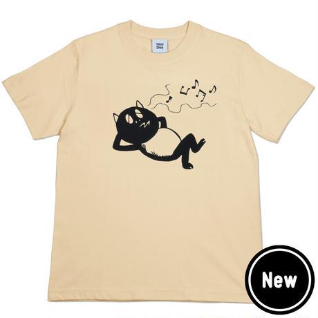 〔予約販売2021年5月下旬〜6月上旬発送予定〕河童の三平 うたたねたぬき T-Shirts Color  オレンジクリーム