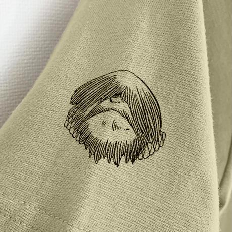 〔10月6日から順次発送〕[YokaiShop限定Ver]悪魔くん 見えない学校 T-Shirts Color  サンドカーキ