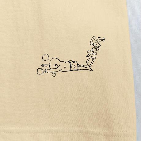 〔予約販売2021年10月下旬〜11月上旬発送予定〕[YokaiShop限定Ver]墓場の鬼太郎 妖怪大戦争 T-Shirts Color  オレンジクリーム