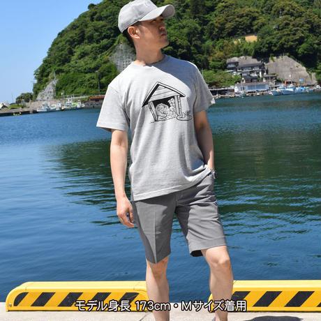 悪魔くん 百目 T-Shirts  Color  グレー