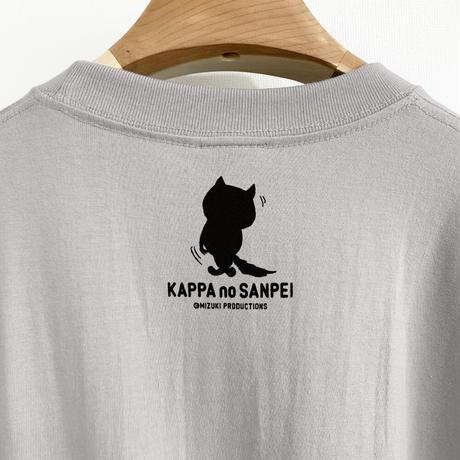 〔予約販売2021年6月下旬〜7月上旬発送予定〕河童の三平 分っちゃいるけど T-Shirts Color  ライトグレー