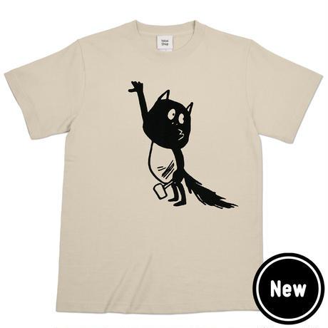〔予約販売2021年10月下旬〜11月上旬発送予定〕河童の三平 金づちたぬき T-Shirts  Color  ベージュ