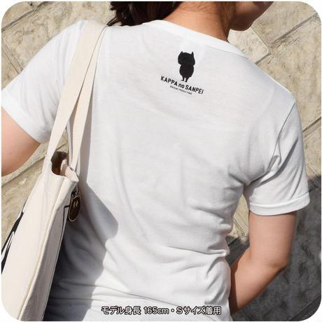 河童の三平 T-Shirts(特製タグ付) Color バニラホワイト