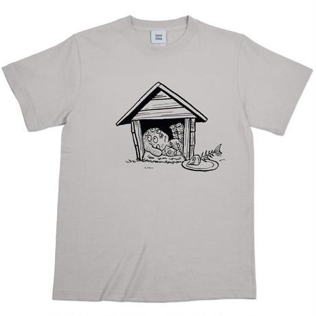 〔予約販売2021年10月下旬〜11月上旬発送予定〕悪魔くん 百目 T-Shirts  Color  ライトグレー