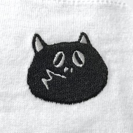 〔予約販売2021年5月下旬〜6月上旬発送予定〕河童の三平 刺繍たぬき Pocket T-Shirts Color ホワイト
