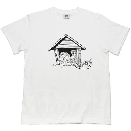 悪魔くん 百目 T-Shirts  Color  ホワイト