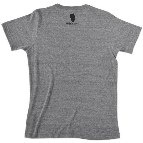 河童の三平 T-Shirts(特製タグ付) Color グレー