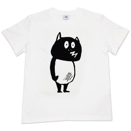 河童の三平 たぬき T-Shirts(特製タグ付) Color  バニラホワイト